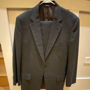 Brooks Brothers grey pinstripe suit